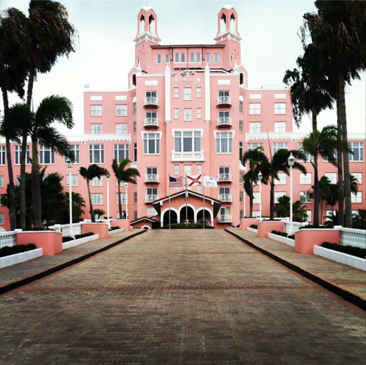 Loews Don CeSar Resort in St. Petersburg, Florida.