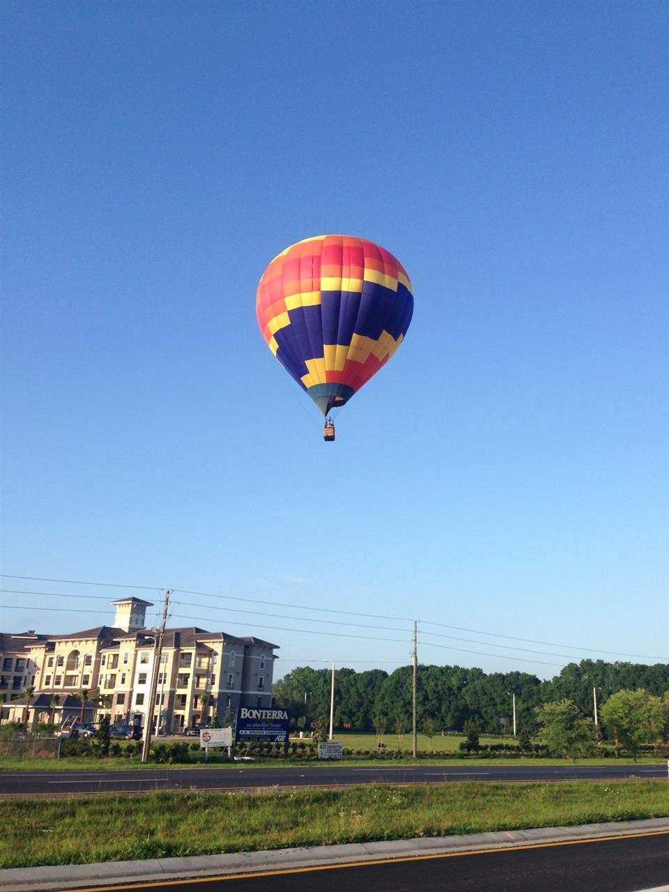 Hot Air Balloon Ride Wesley Chapel Florida