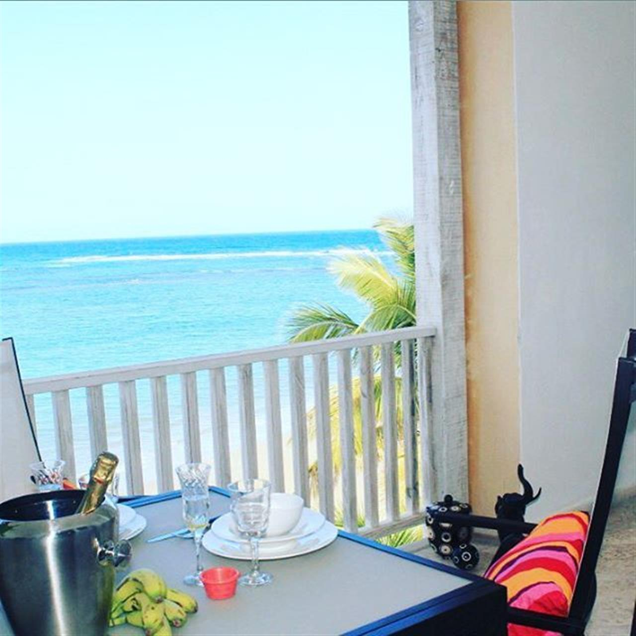 Good morning! Lovely view to wake up to. #Cabarete