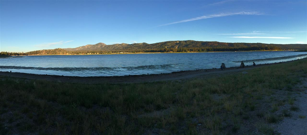 Big Bear Lake CA Panorama