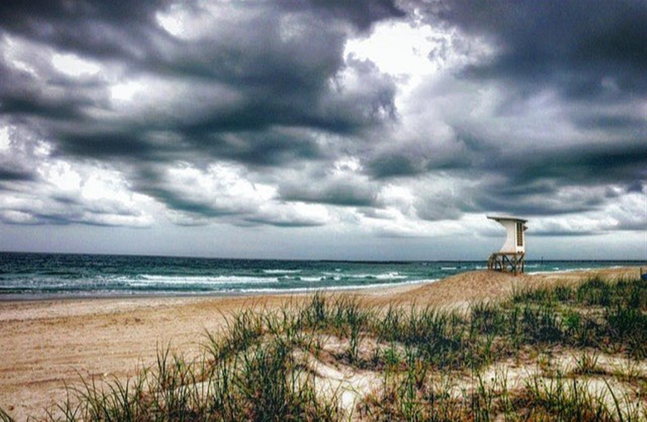**** Even on the gloomiest of days, it is still my favorite ?? #wrightsvillebeach #beach #whatsupwilmington