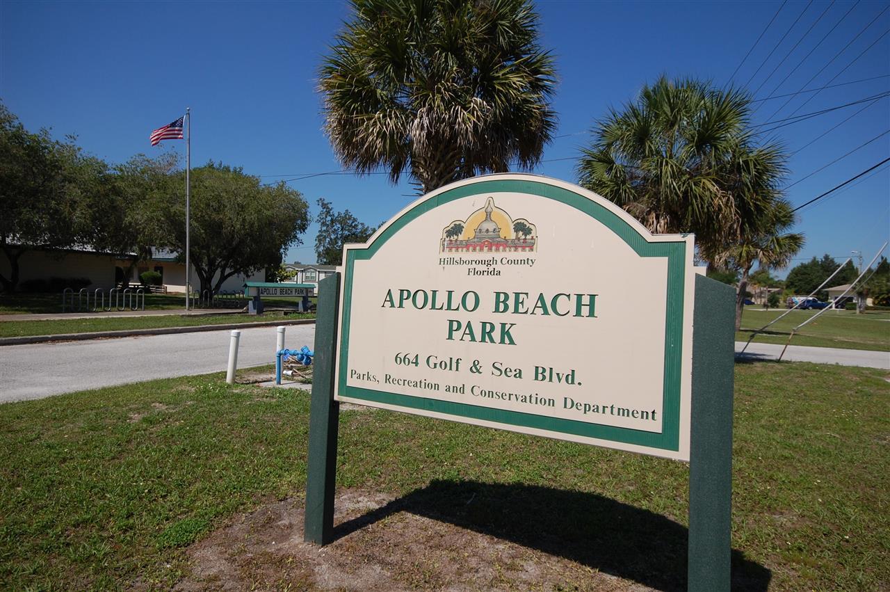 Park in Apollo Beach Florida