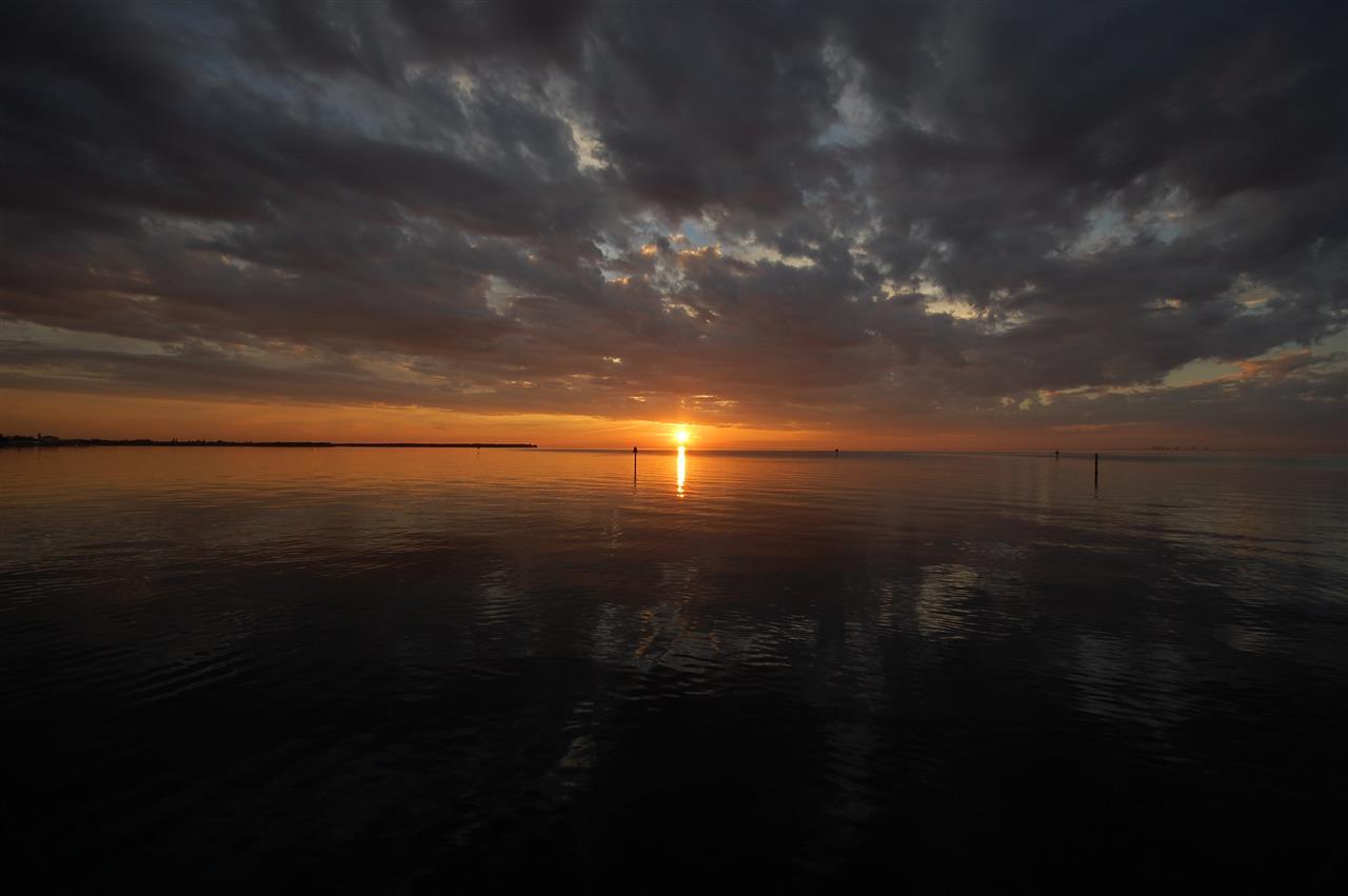Bay view from Apollo Beach Florida