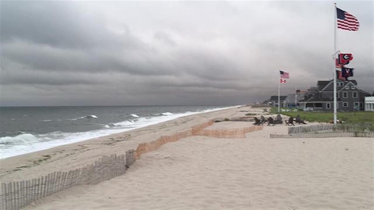 Stormy skies...  #nj #stormyweather #weather #beach #jshn