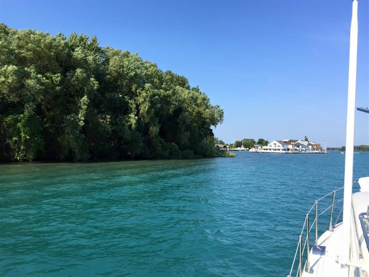 Harsens Island view from Lake St. Clair #Harsens Island #Michigan