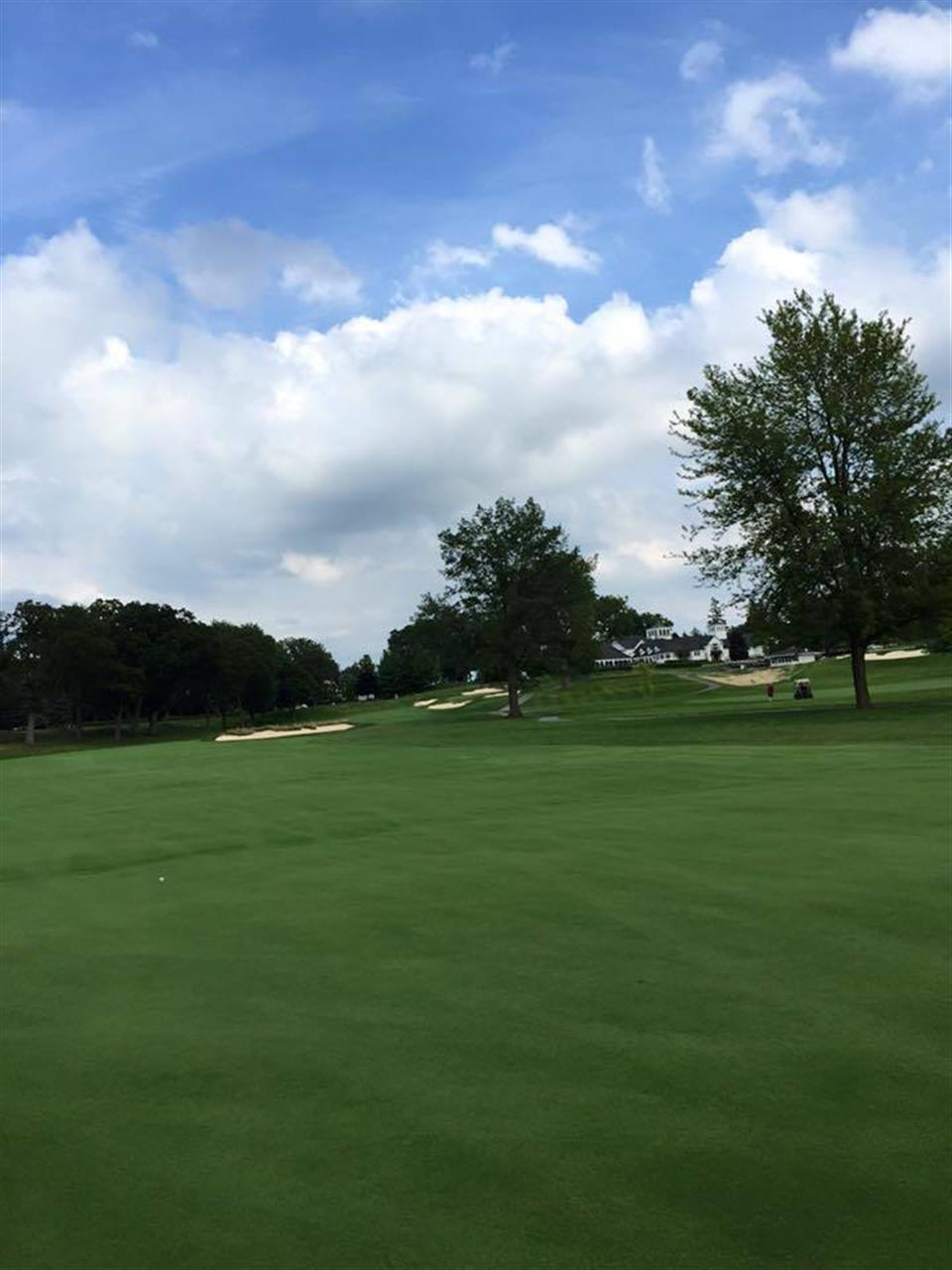 Golf course at Orchard Lake Country Club #OrchardLake #Michigan