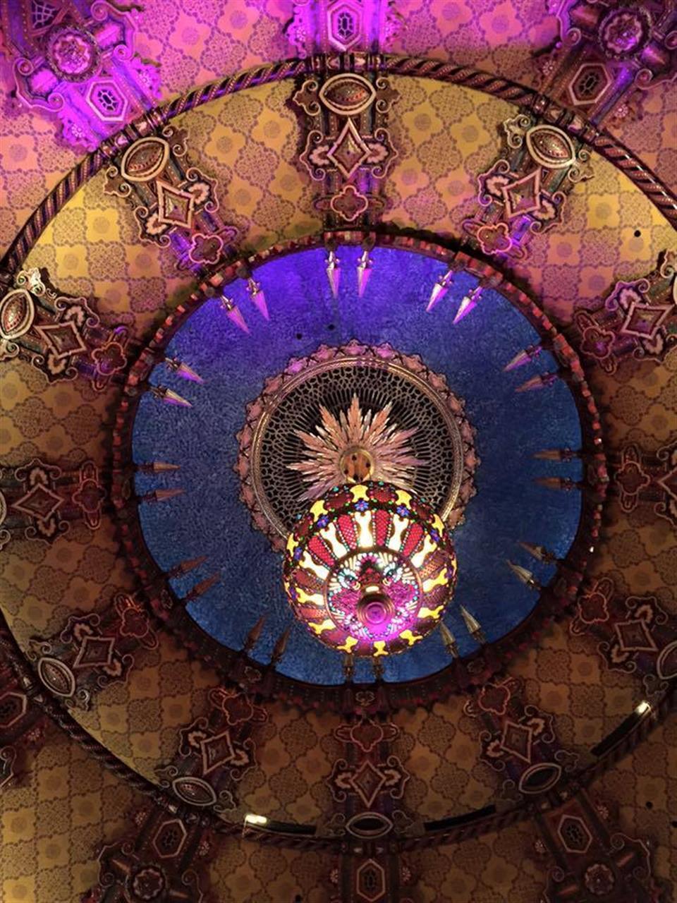 Fox Theatre ceiling #Detroit #Michigan