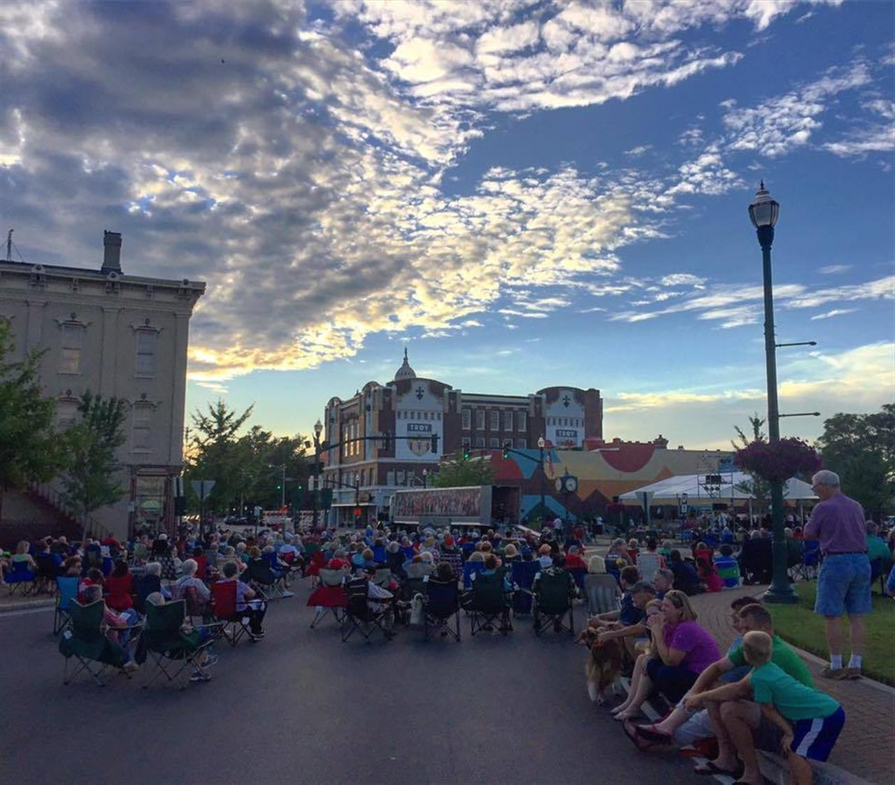 Downtown Troy Weekly Concert Series.