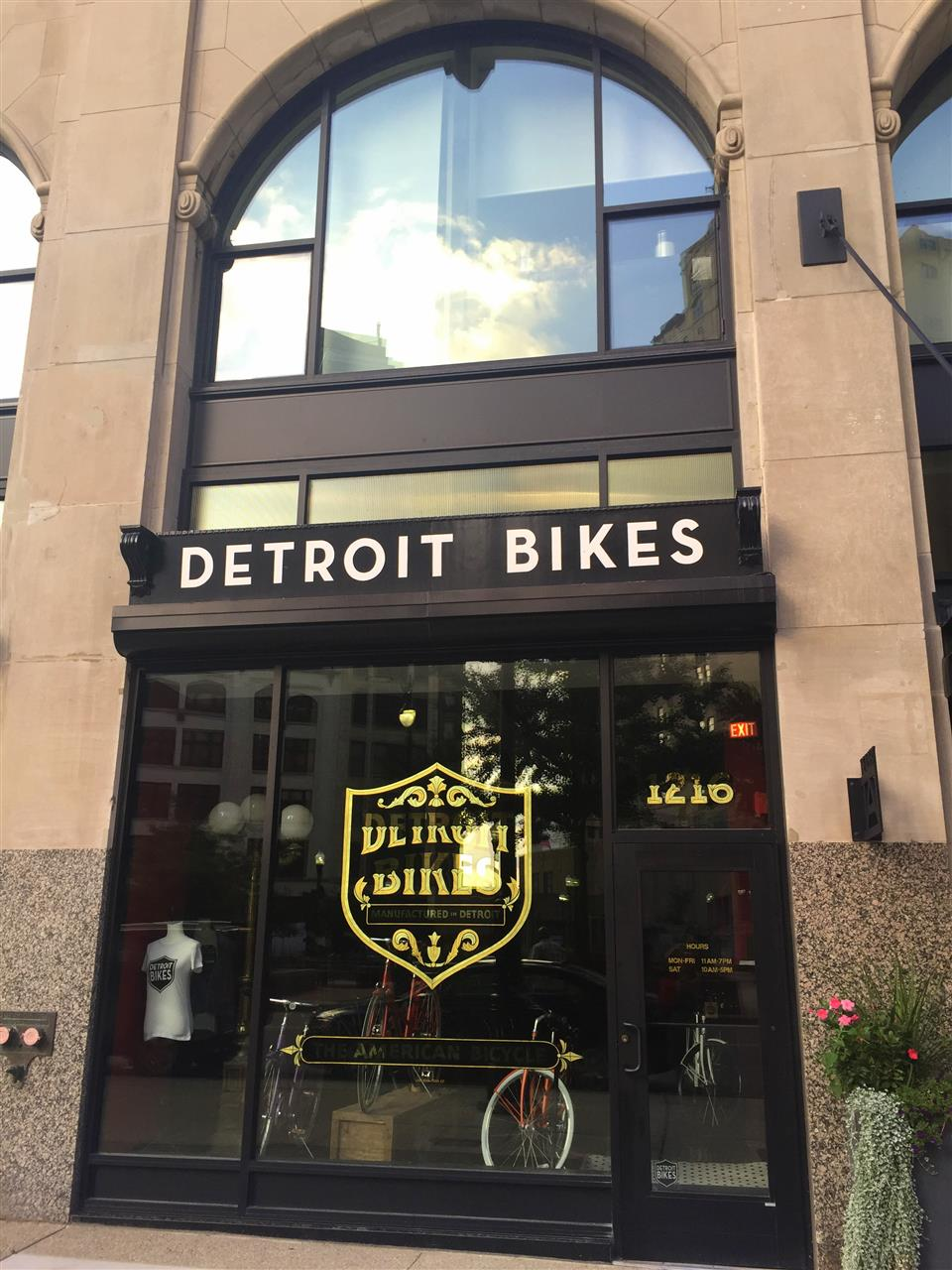 Detroit Bikes are hand built, individually numbered and manufactured in Detroit. #CapitolPark #Detroit #Michigan