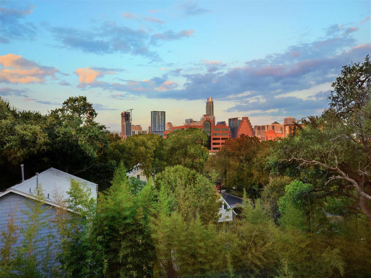 Bouldin Hilltop view of downtown Austin, TX