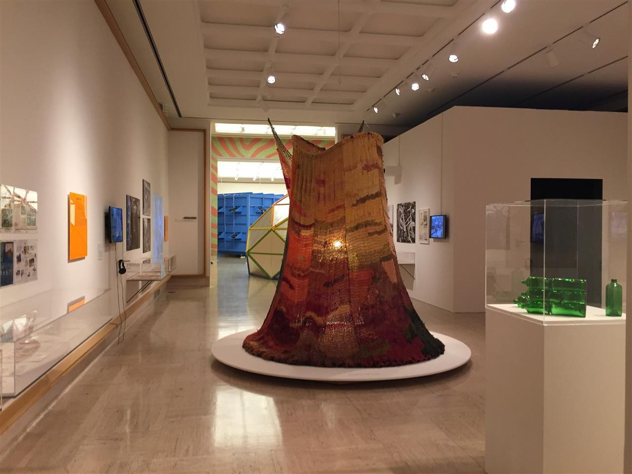 """Hippie Modernism"" exhibit at the Cranbrook Art Museum, which opened in its current Eliel Saarinen-designed building in 1942.  #BloomfieldHills #Michigan"