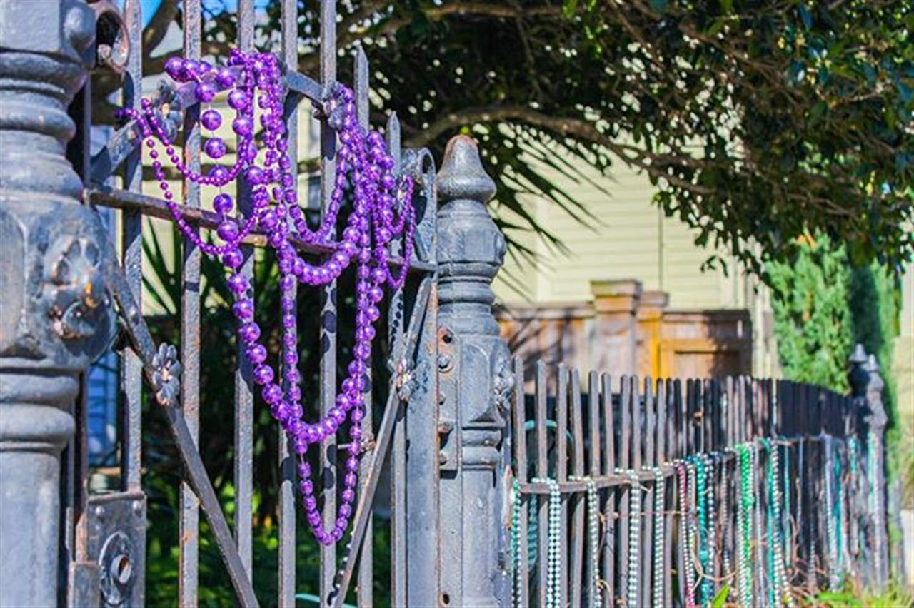 If you go to New Orleans, you ought to go see the Mardi Gras. Happy Carnival Season!