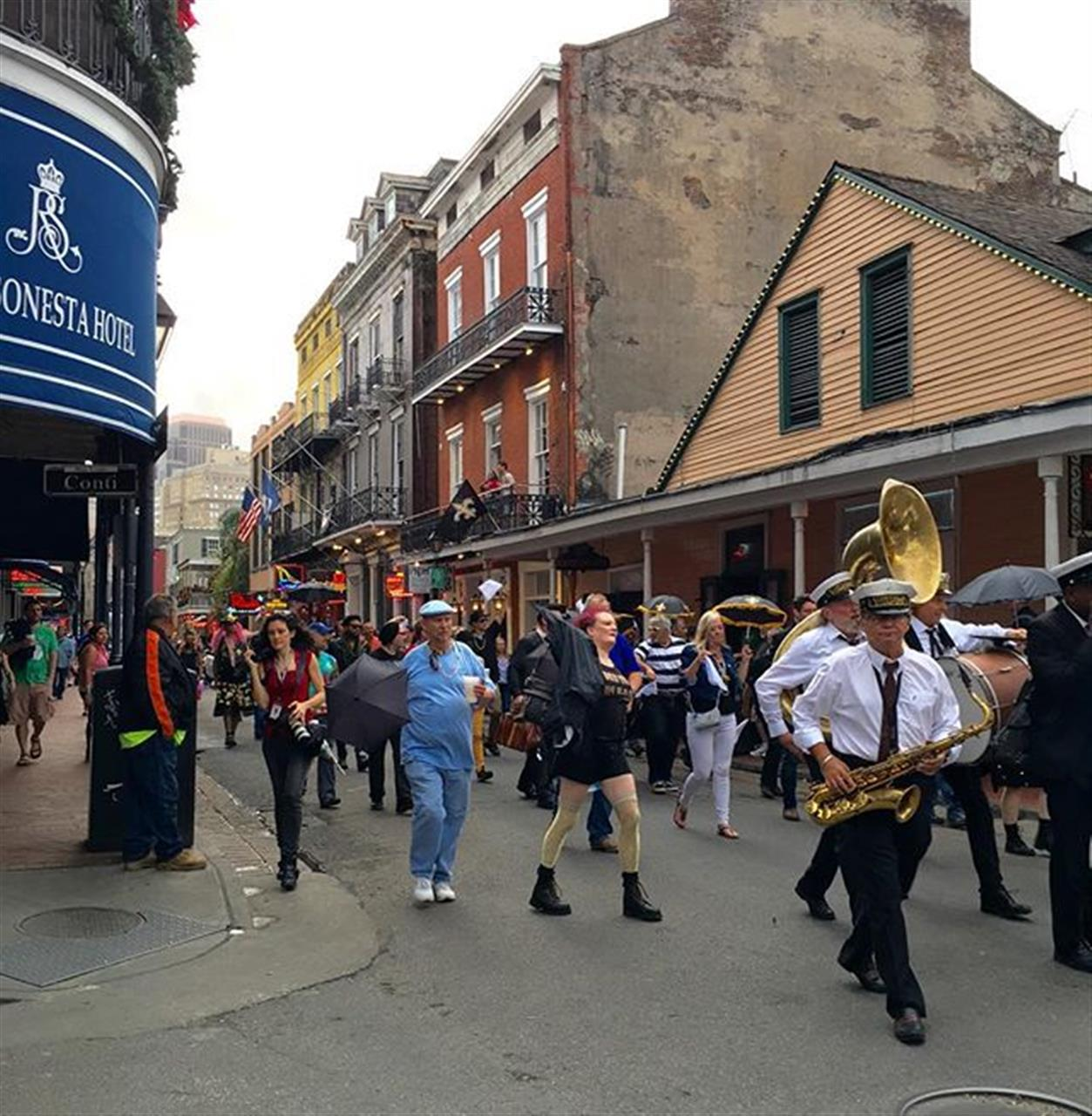 A New Orleans style second line is a celebration of life #thisisnola