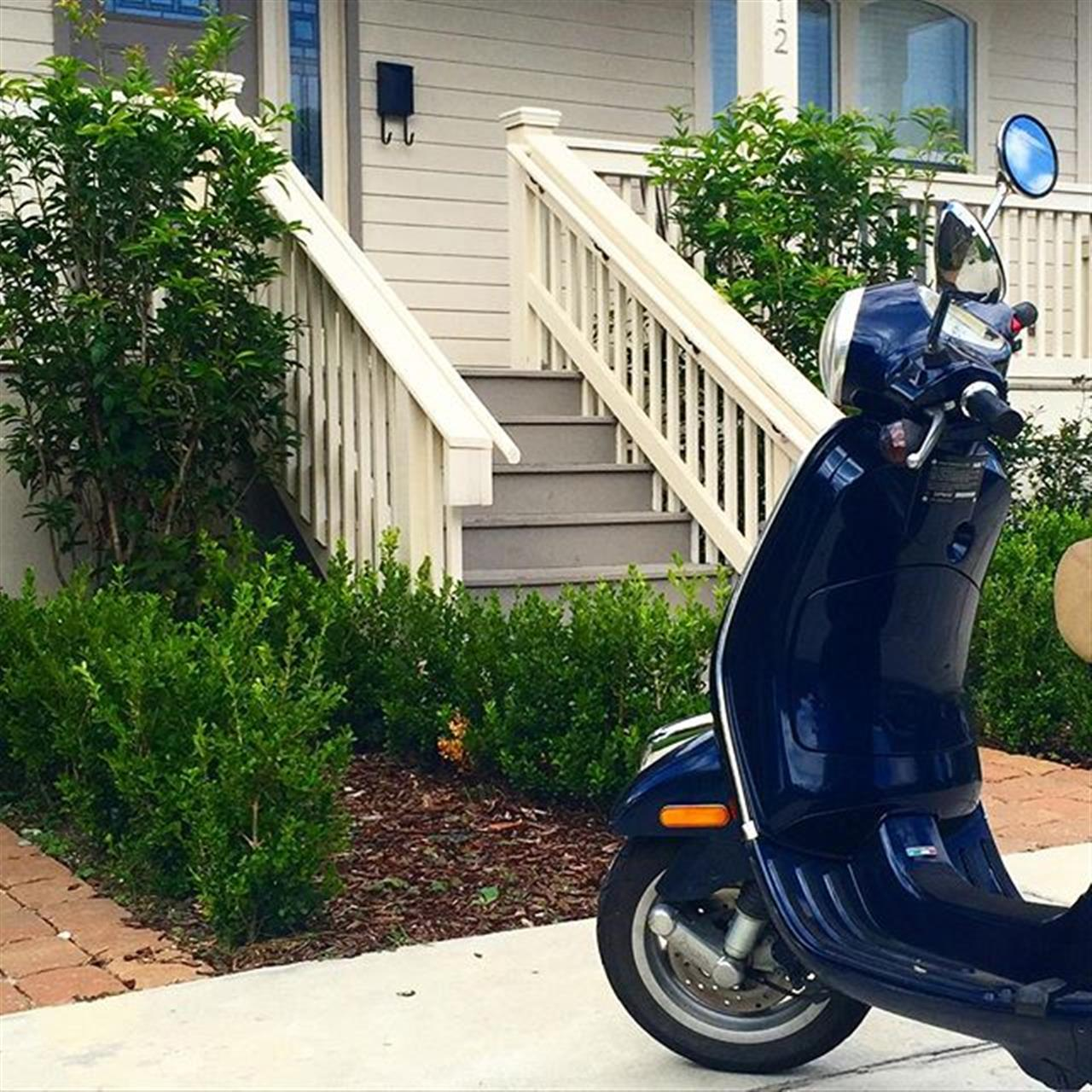 Perfect scooter weather here in #NOLA