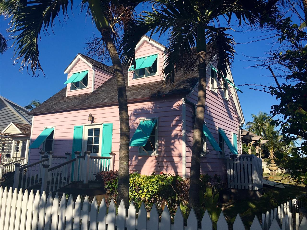 Traditional Colonial Cottage, Elbow Cay, Abaco, Bahamas