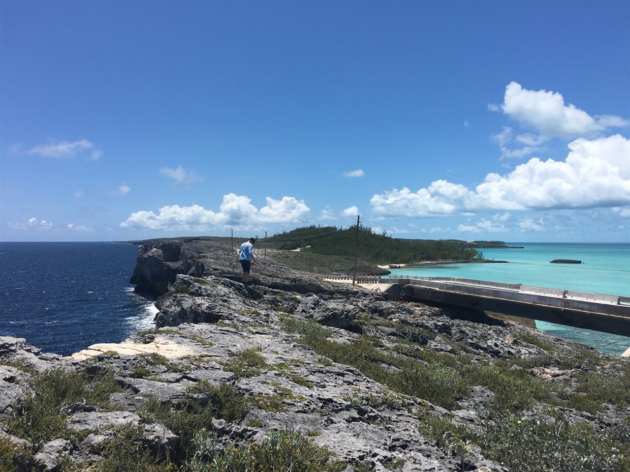 The Glass Window Bridge (where two oceans meet), Eleuthera, Bahamas