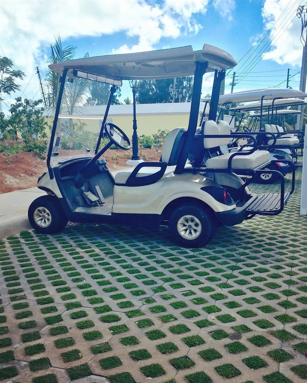Golf Carts, Eleuthera, Bahamas