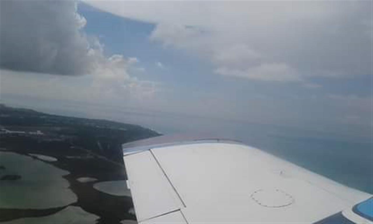 Nassau, Bahamas from the sky