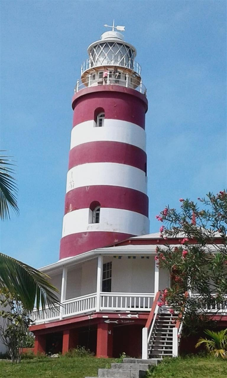 Hope Town Lighthouse, Abaco, The Bahamas
