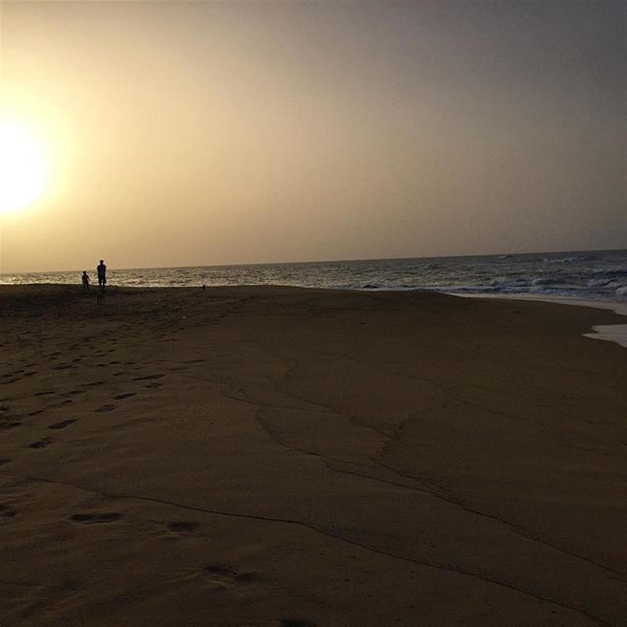 It was a hot Sunday! Good night! #northcoast #beach #DominicanRepublic #Caribbean