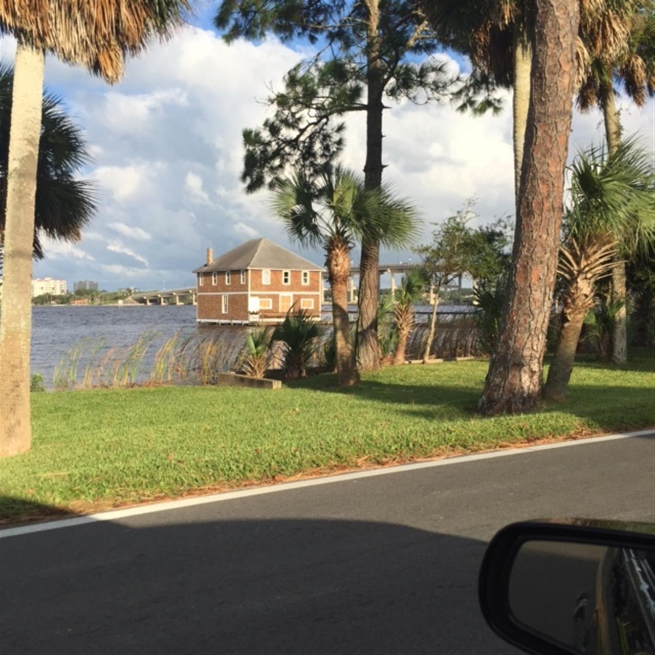 Old Ormond Yacht Club on the Halifax River Ormond Beach, Florida