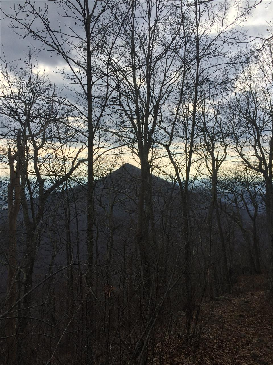 SharpTop view from FlatTop, Peaks of Otter, Bedford, VA