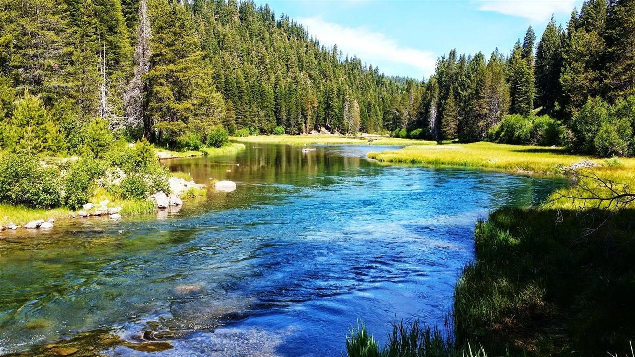 The Truckee River as it winds from Tahoe City to Truckee. While beautiful to view, it is also a wonderful place to kayak or raft in late spring and early summer. This photo was taken during a bike ride on the bike path that follows the river.