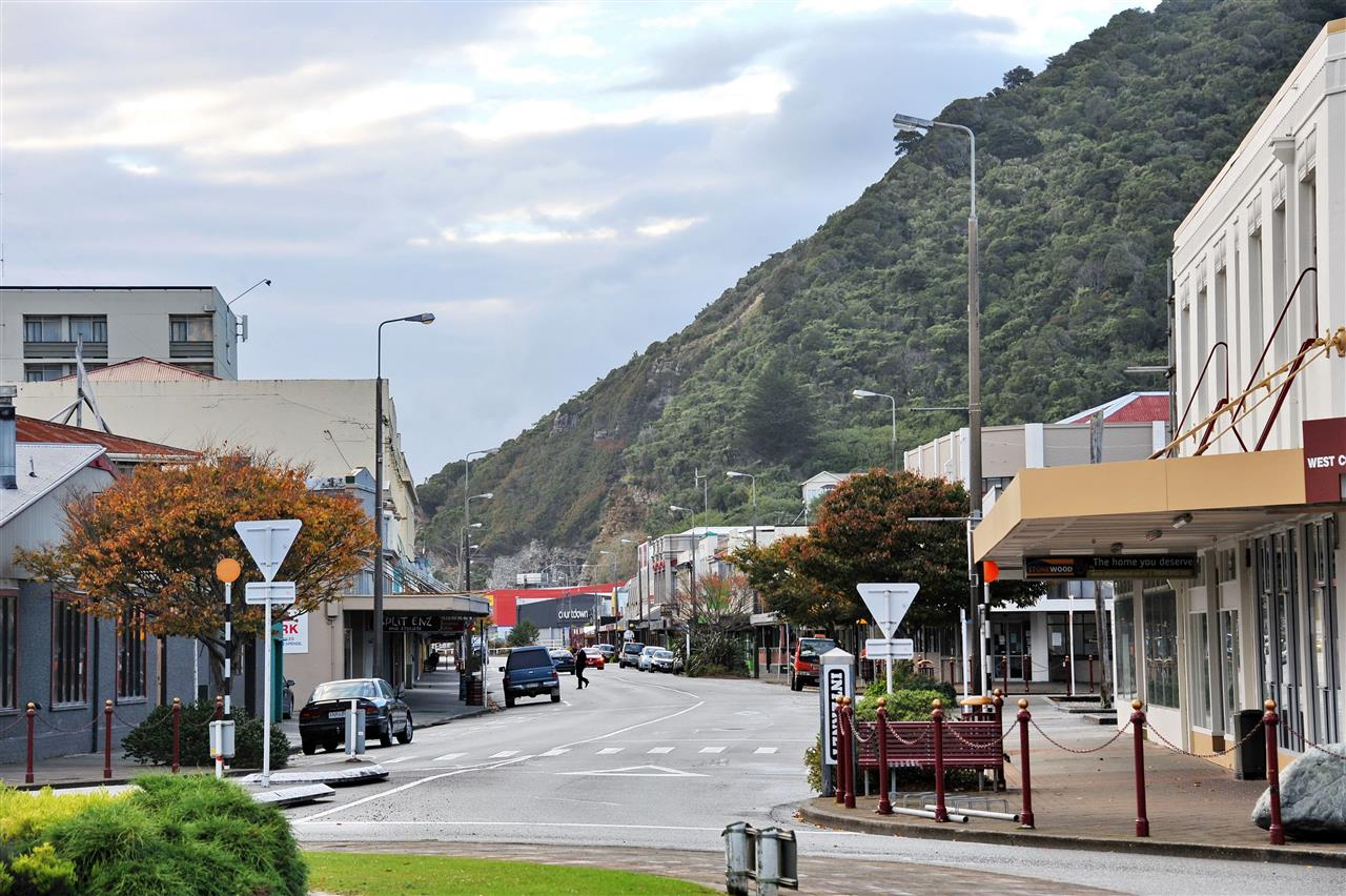 Greymouth, South Island, New Zealand