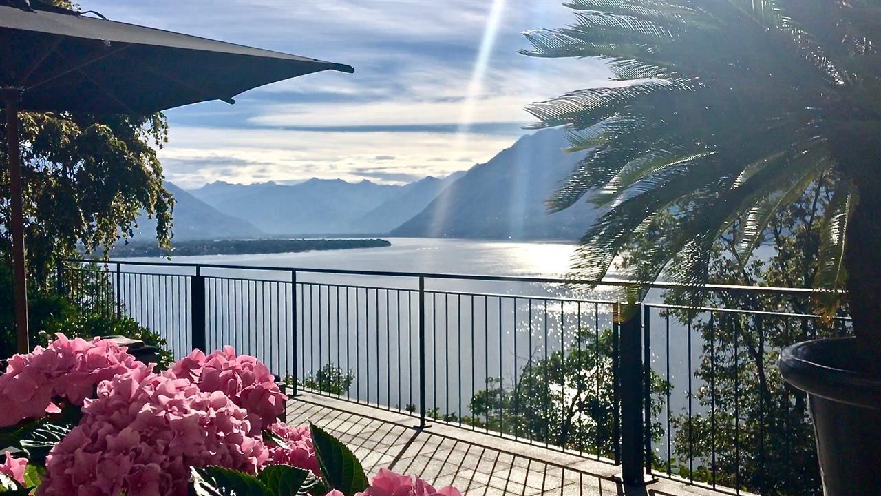 Brissago, Lake Maggiore, Ticino, Switzerland
