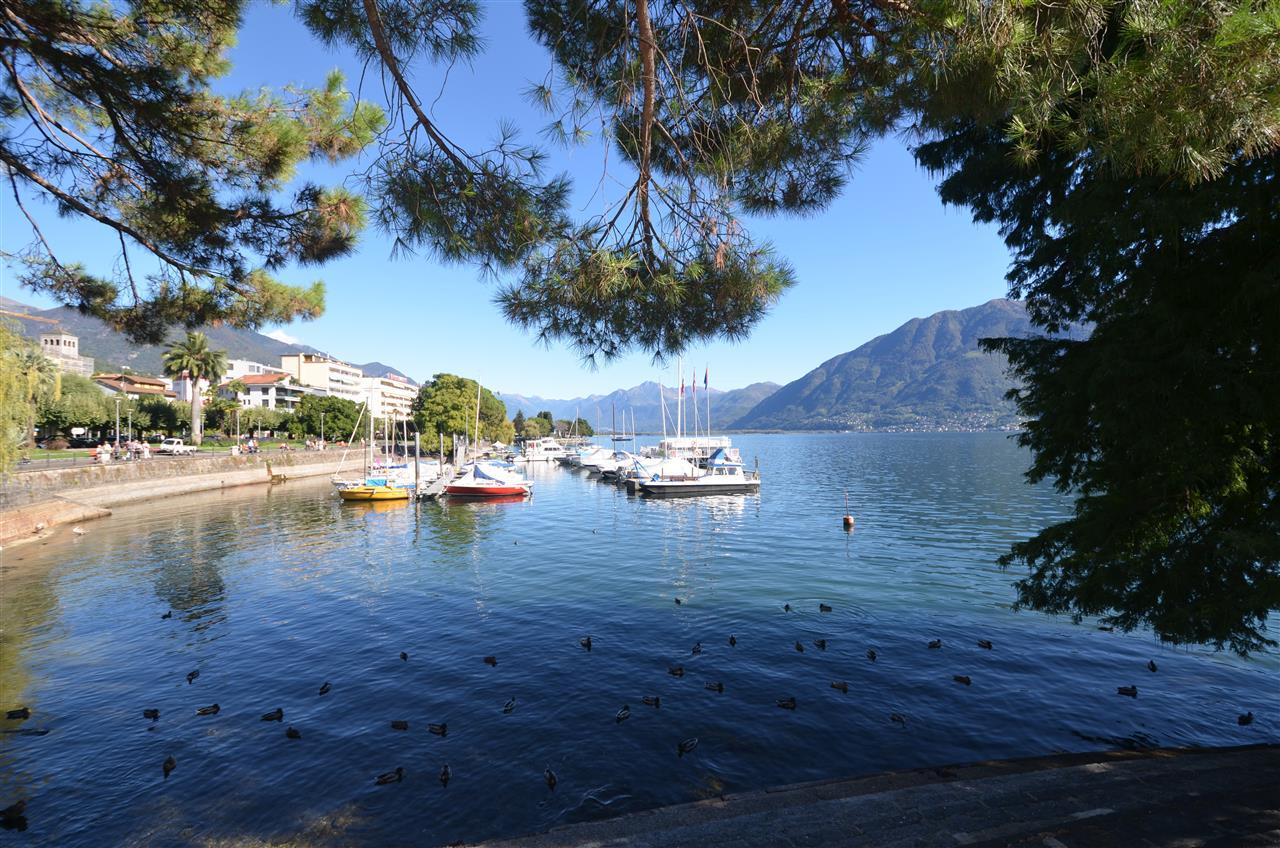 Muralto, Lake Maggiore, Ticino, Switzerland