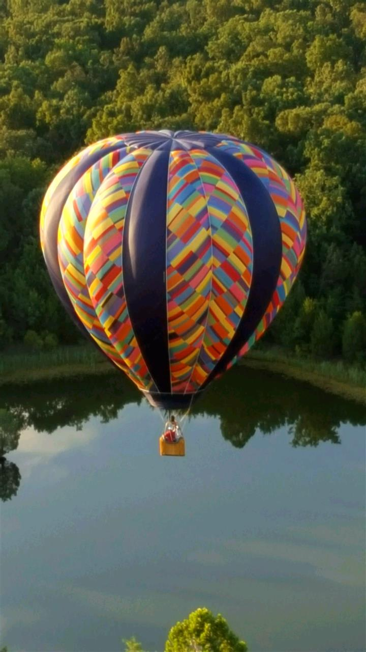 Ballooning over Fauquier County, Virginia