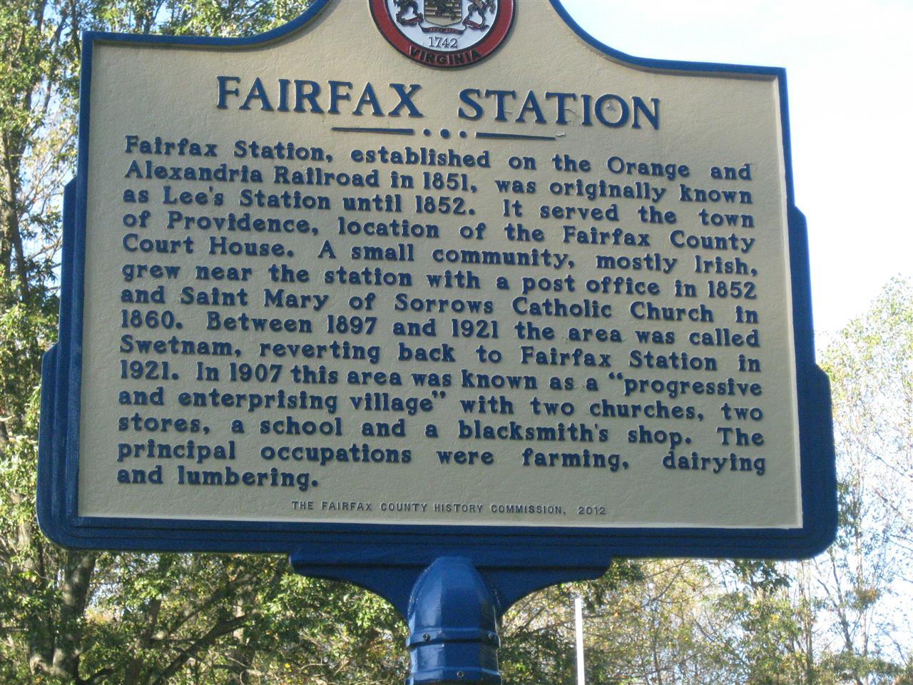 Fairfax Station, VA