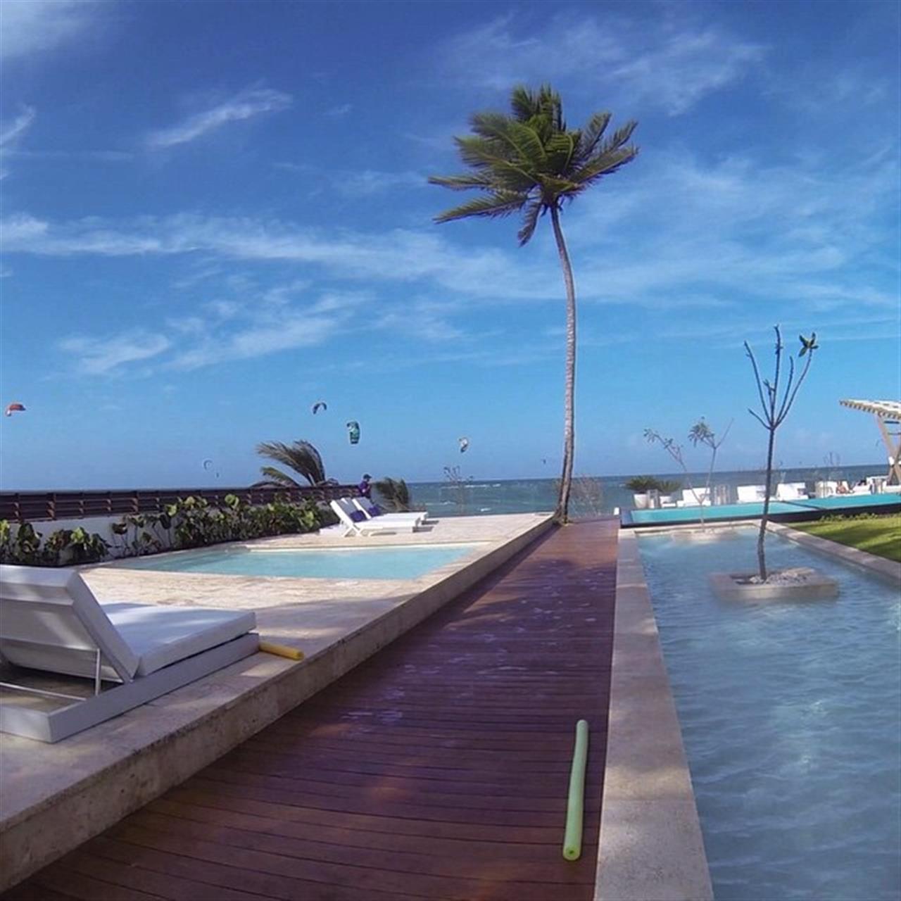 #kiteboarding #Cabarete #northcoast #beach #sand #lifestyle #condos #pool #DominicanRepublic