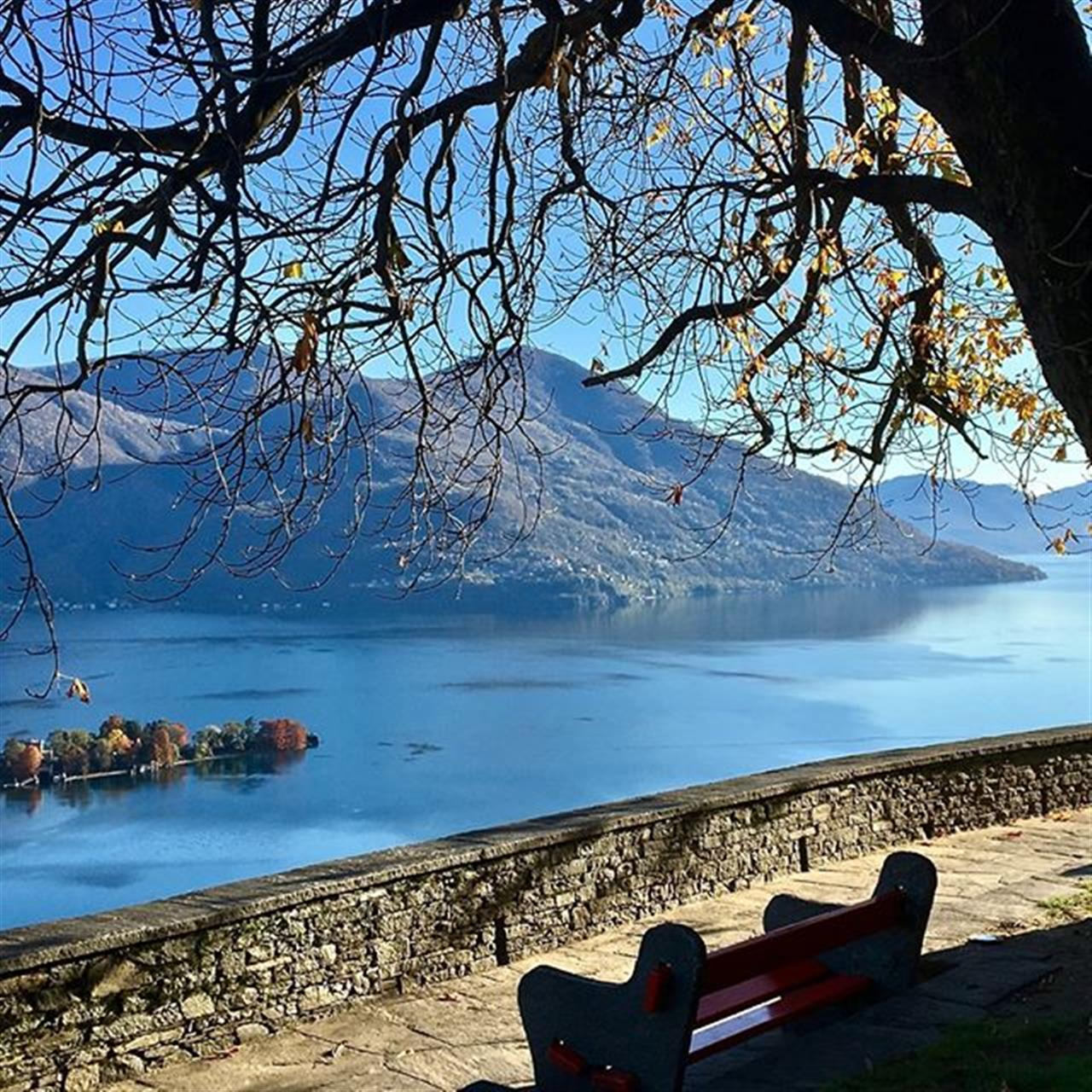 Lake Maggiore and the Brissago isle in autumn, Ticino, Switzerland  #lakemaggiore #ticino #switzerland #luxuryrealestate #luxurylife  #luxurylifestyle #christiesinternationalrealestate #luxuryportfolio #wetagconsulting #leadingre #ChristiesHomes #takemehere #FF #instafollow #l4l #tagforlikes #followback #instagood #tbt #photooftheday #followme #likeforlike #LeadingRElocal