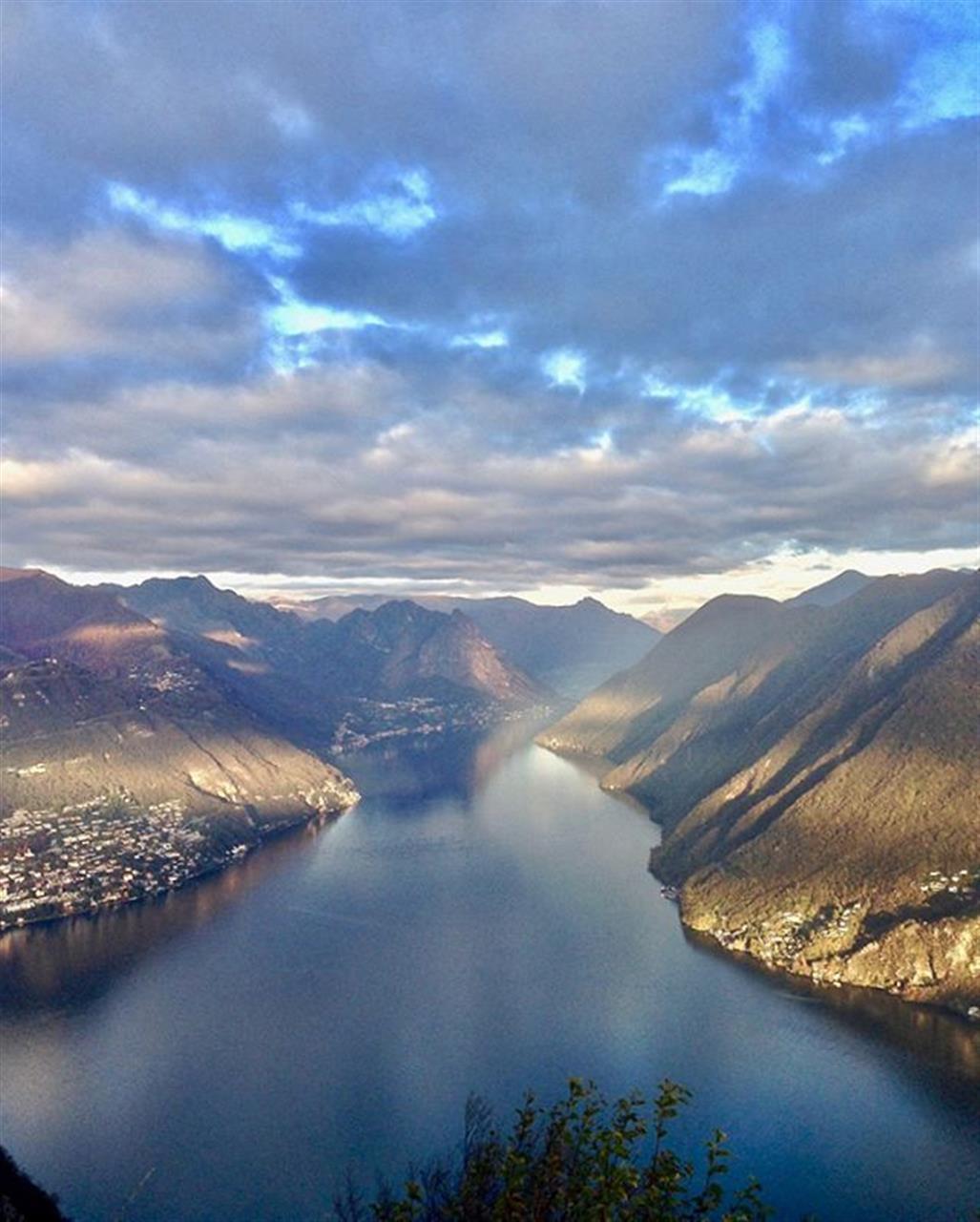 Lake Lugano in Ticino Switzerland in autumn.  #lakelugano #ticino #switzerland #luxuryrealestate #luxurylife  #luxurylifestyle #christiesinternationalrealestate #luxuryportfolio #wetagconsulting #leadingre #ChristiesHomes #takemehere #FF #instafollow #l4l #tagforlikes #followback #instagood #tbt #photooftheday #followme #likeforlike #LeadingRElocal