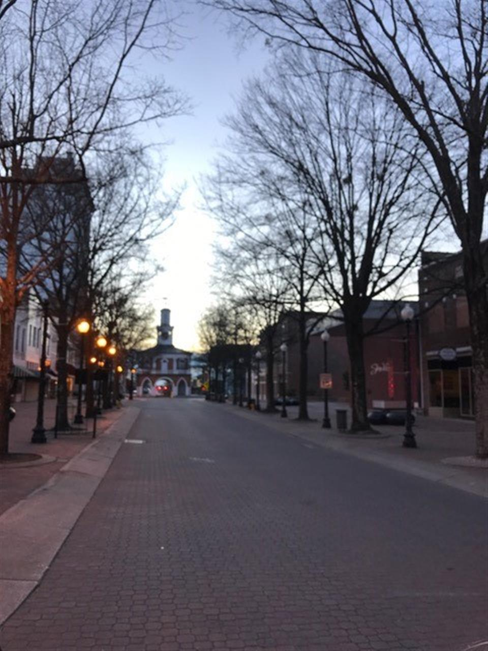 Market House at sunrise, January 29, 2017.  Submitted by Townsend Real Estate.