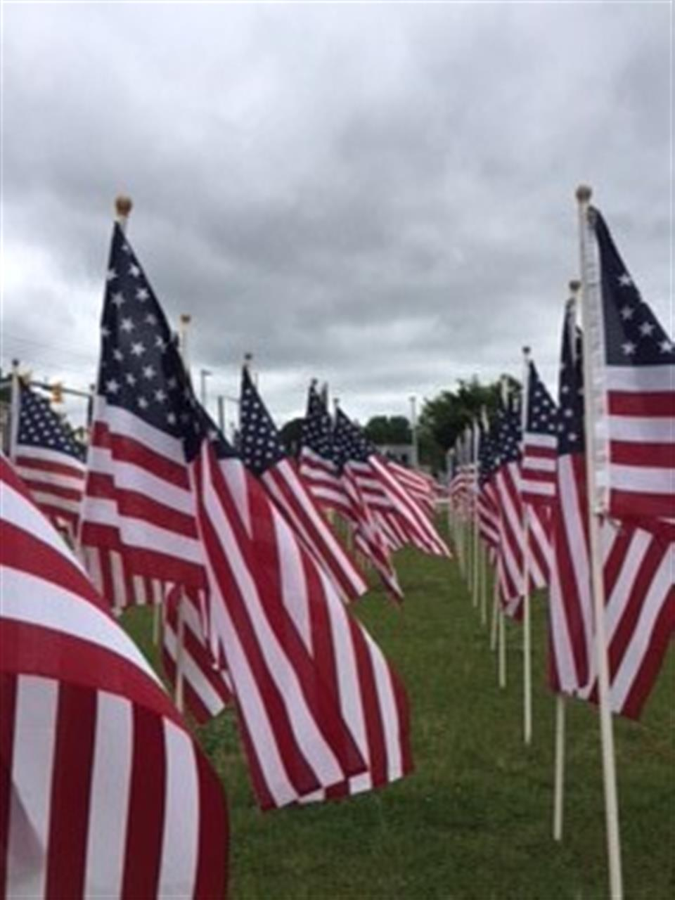 Field of Honor.  Submitted by Townsend Real Estate.