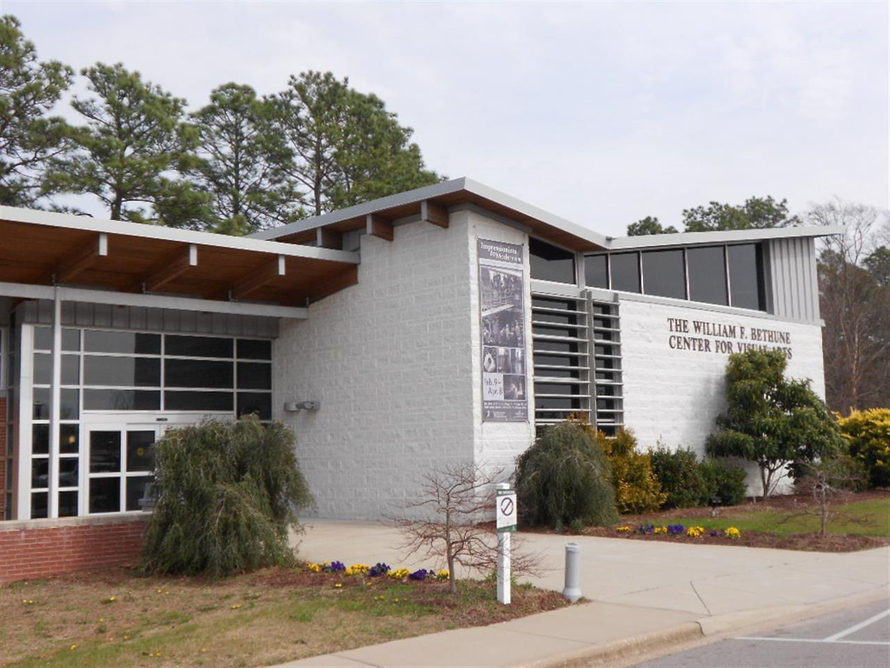 The William Bethune Center for the Arts at Methodist University in Fayetteville, North Carolina
