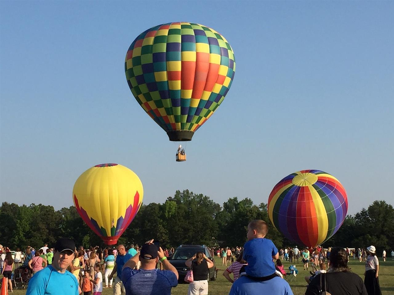 Balloon Festival near Fayetteville, North Carollina.  Submitted by Townsend Real Estate.