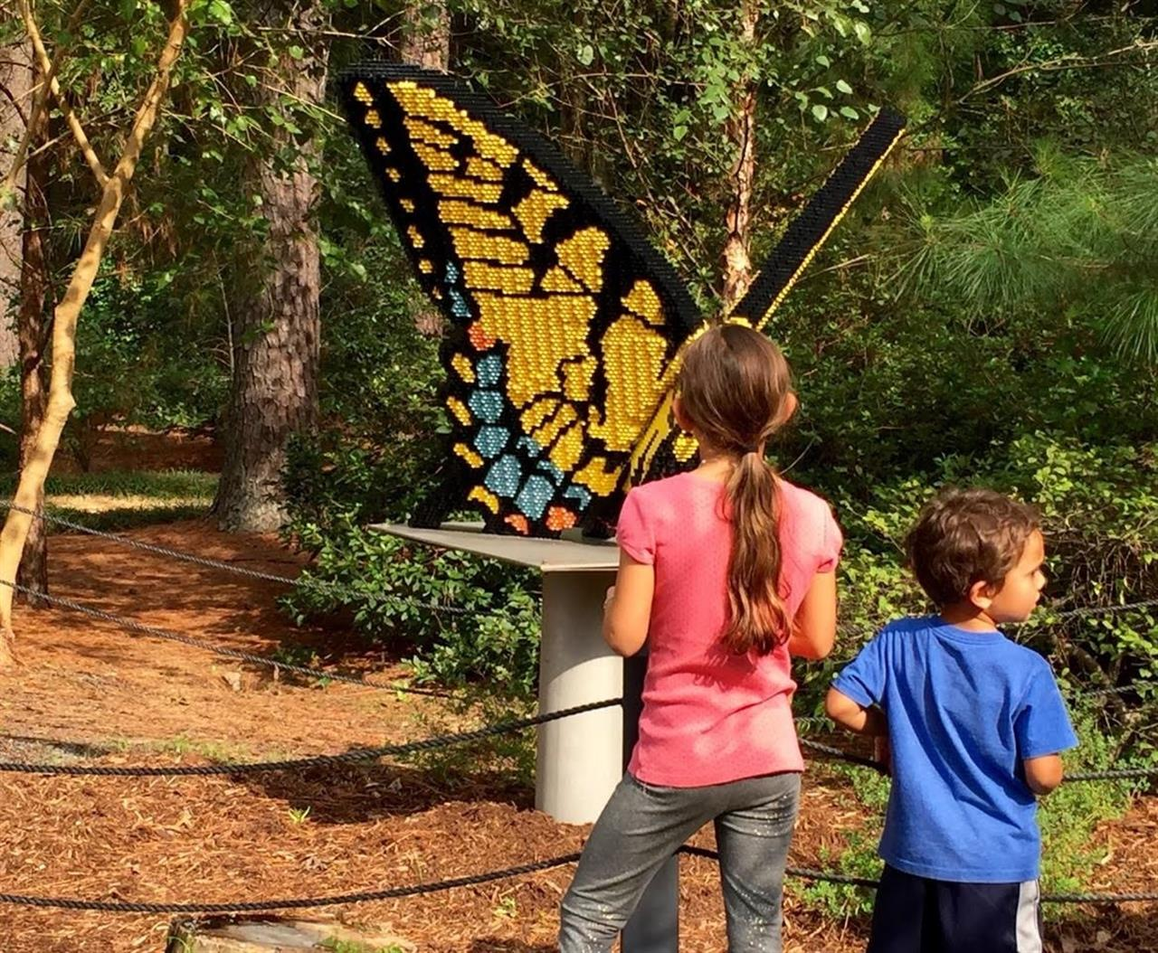 Giant Lego Exhibit hosted by Cape Fear Botanical Garden in Fayetteville, North Carolina.  Submitted by Lee McMillan