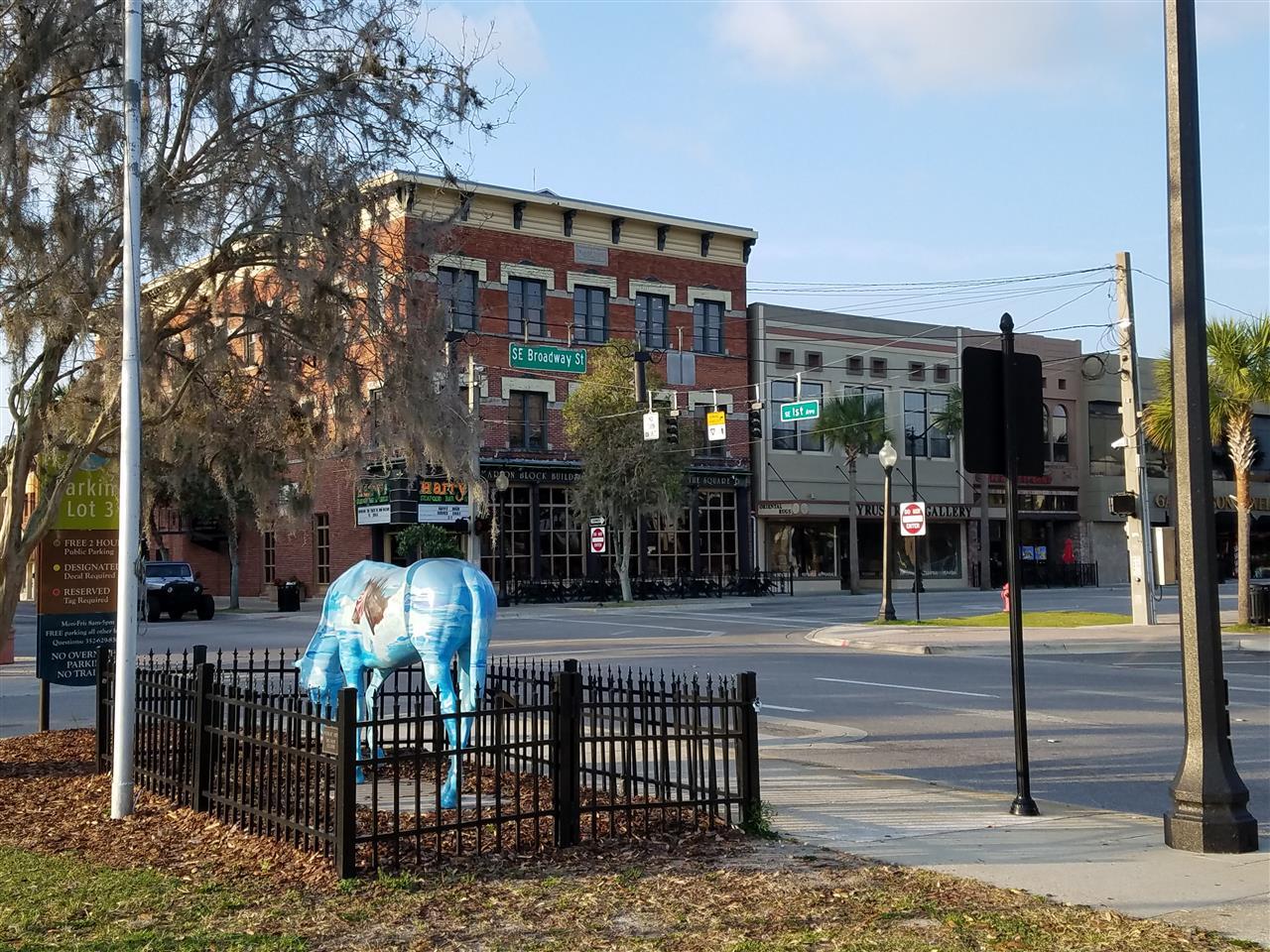 SE Broadway St and SE 1st Avenue, Ocala, Florida