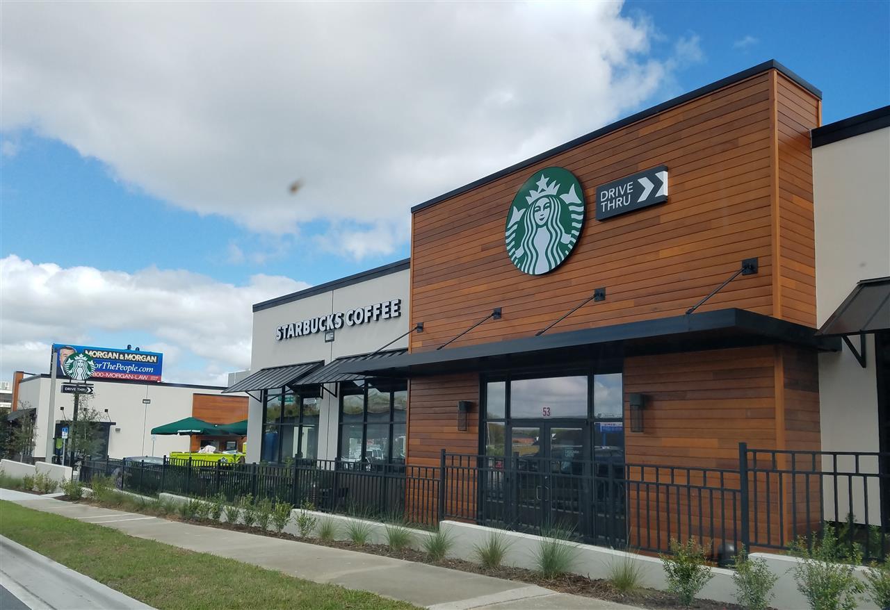 New Starbucks Downtown Ocala, Florida