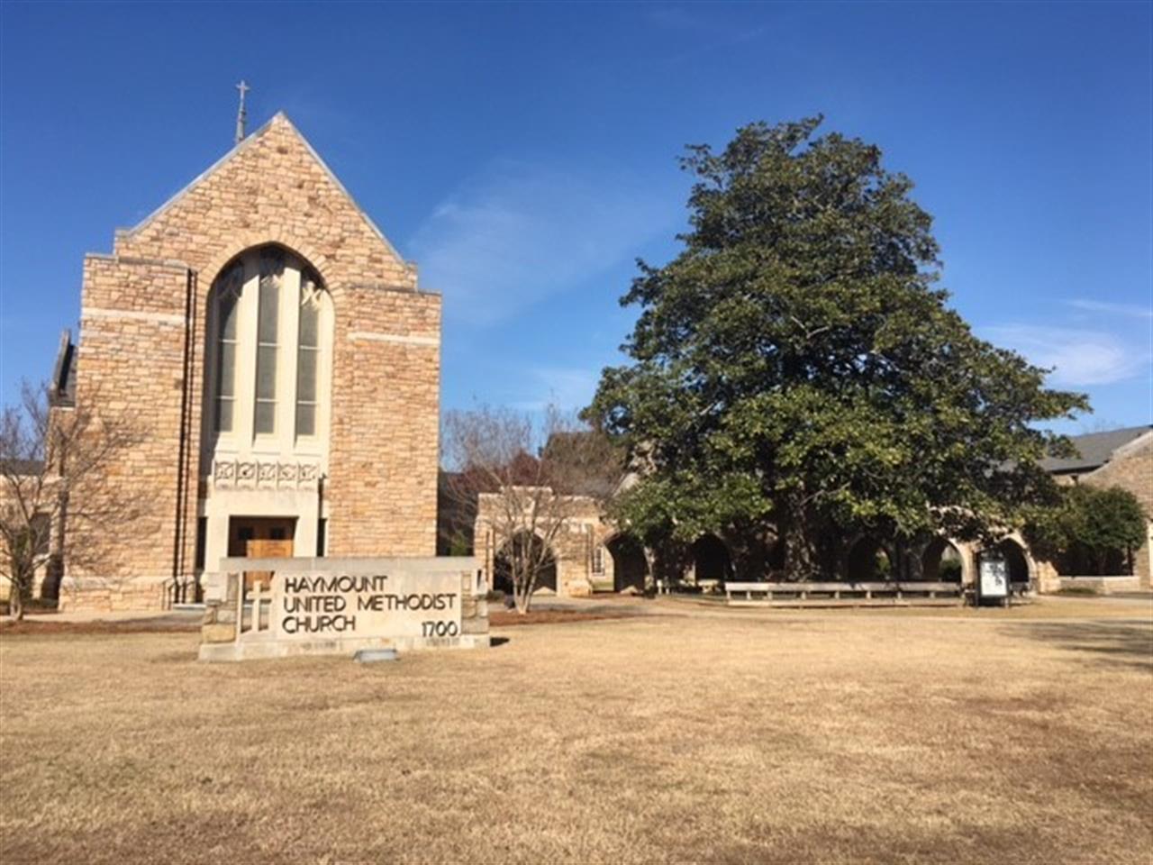 Haymount United Methodist Church, Fayetteville NC