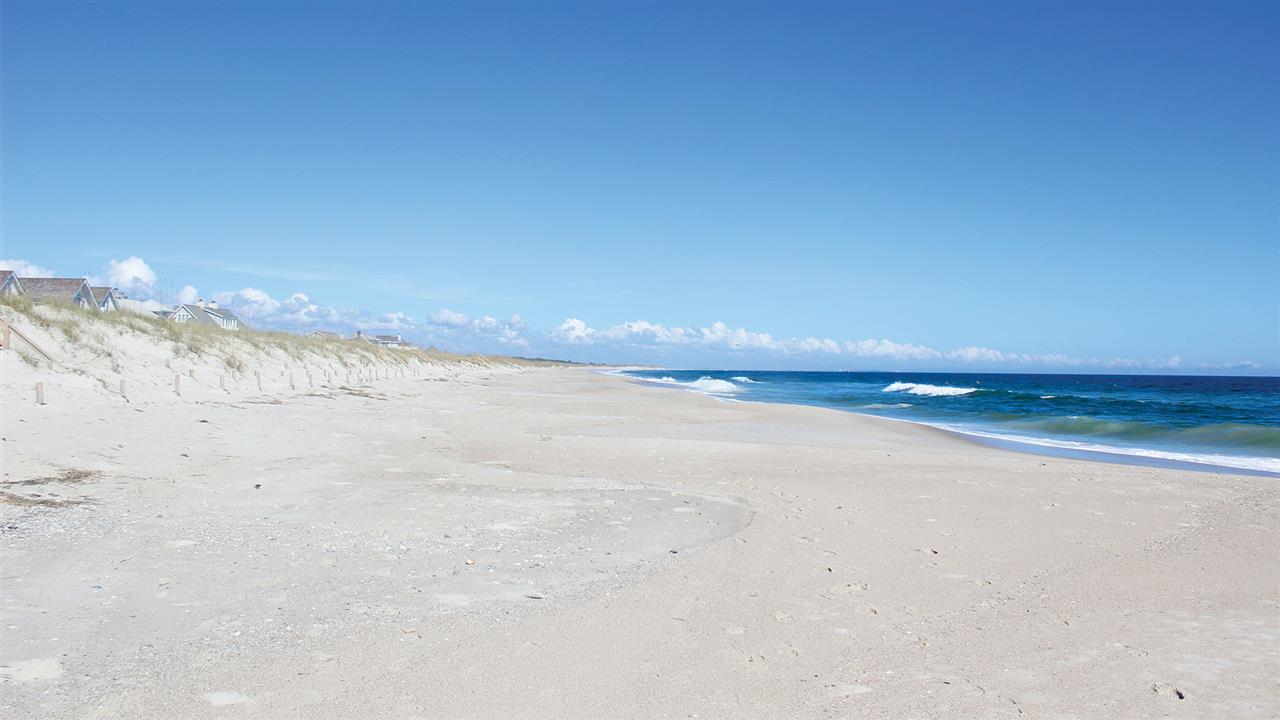 Over 14 miles of white sand beaches.