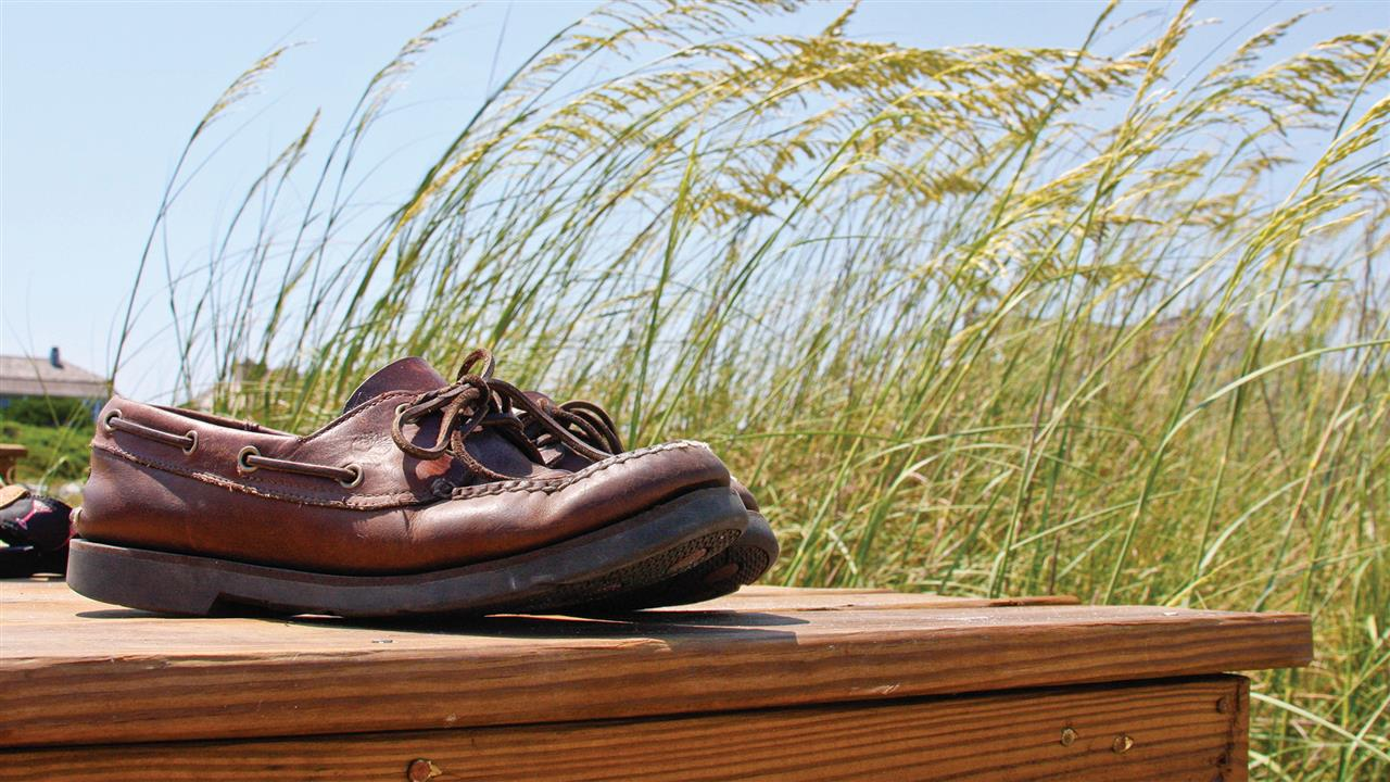 Kick off your shoes and feel the Island sand between your toes.