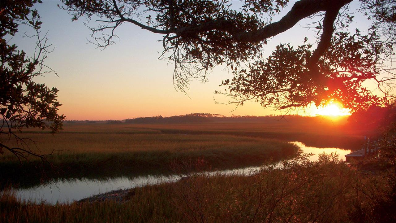 On Bald Head Island you can experience both the sunrise and sunset each and every day.