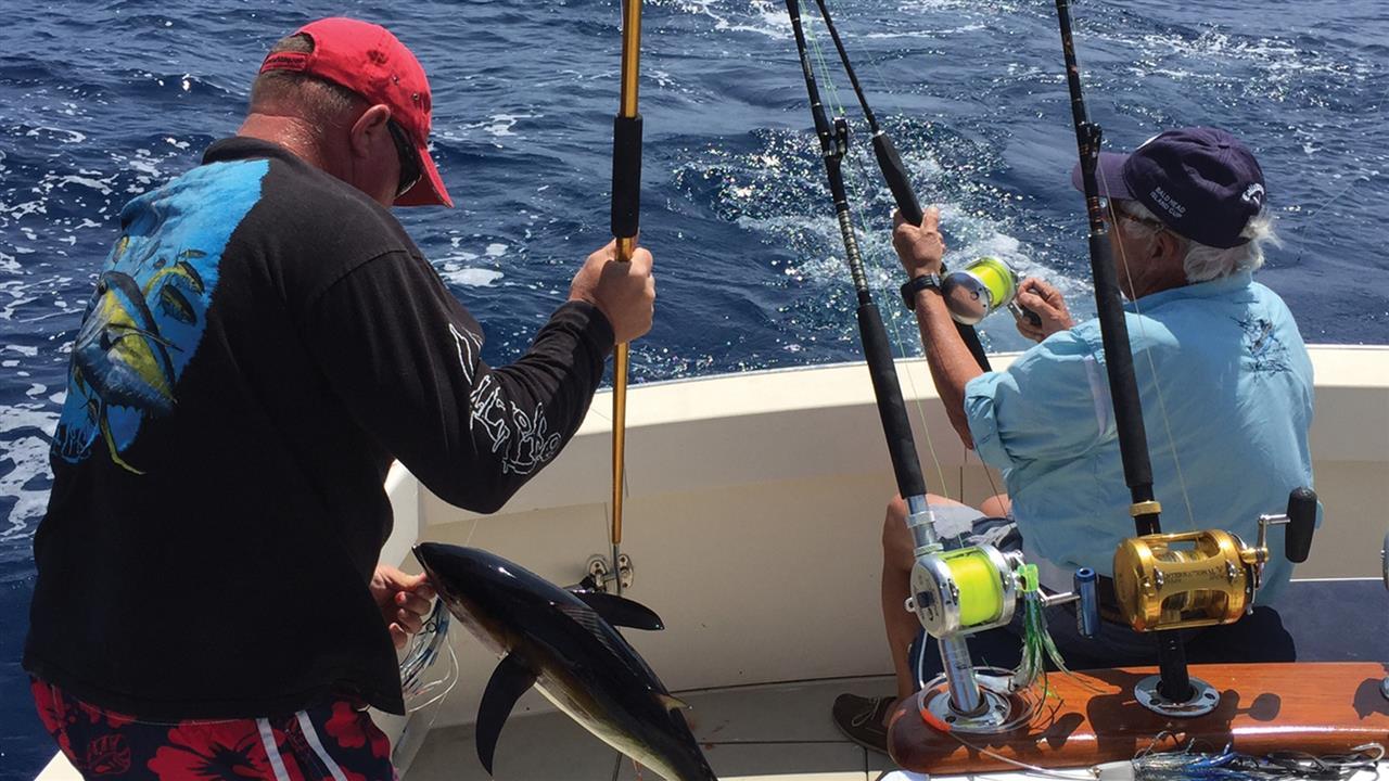 Fishing is a popular activity on Bald Head Island.