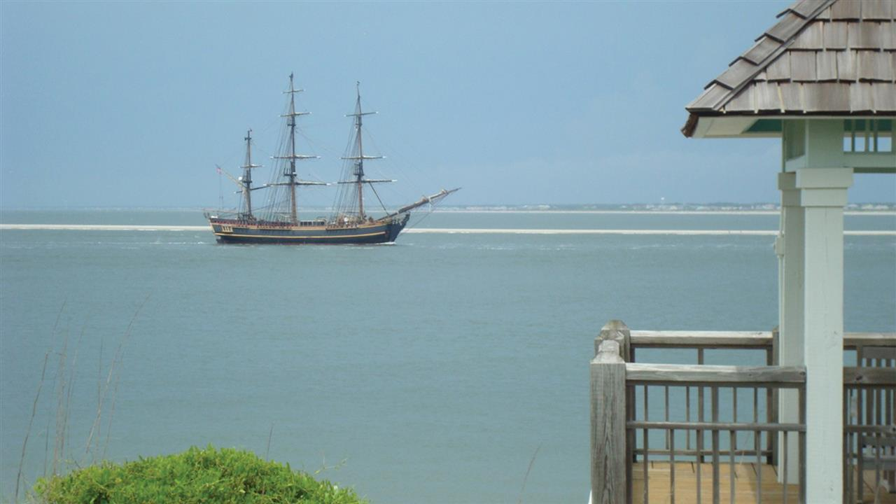 Pirate weekend is back on Bald Head Island.