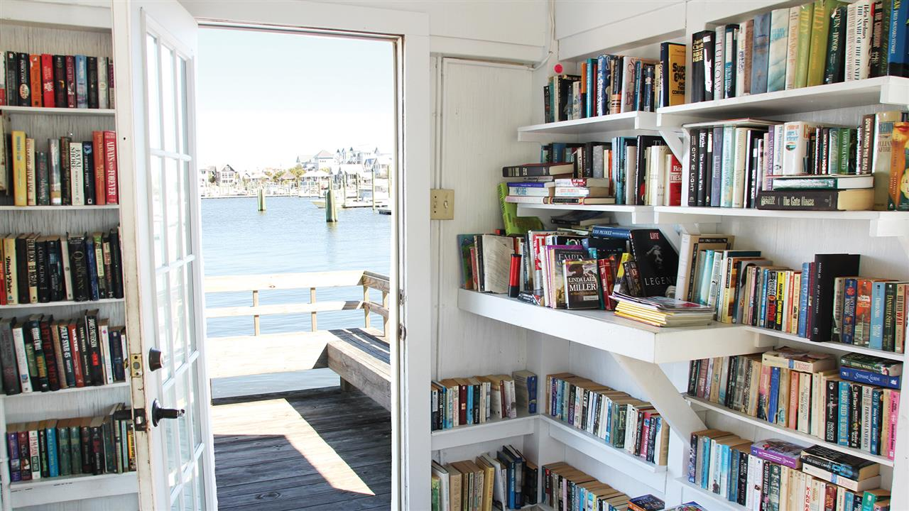 Bring one - take on library in the harbour.