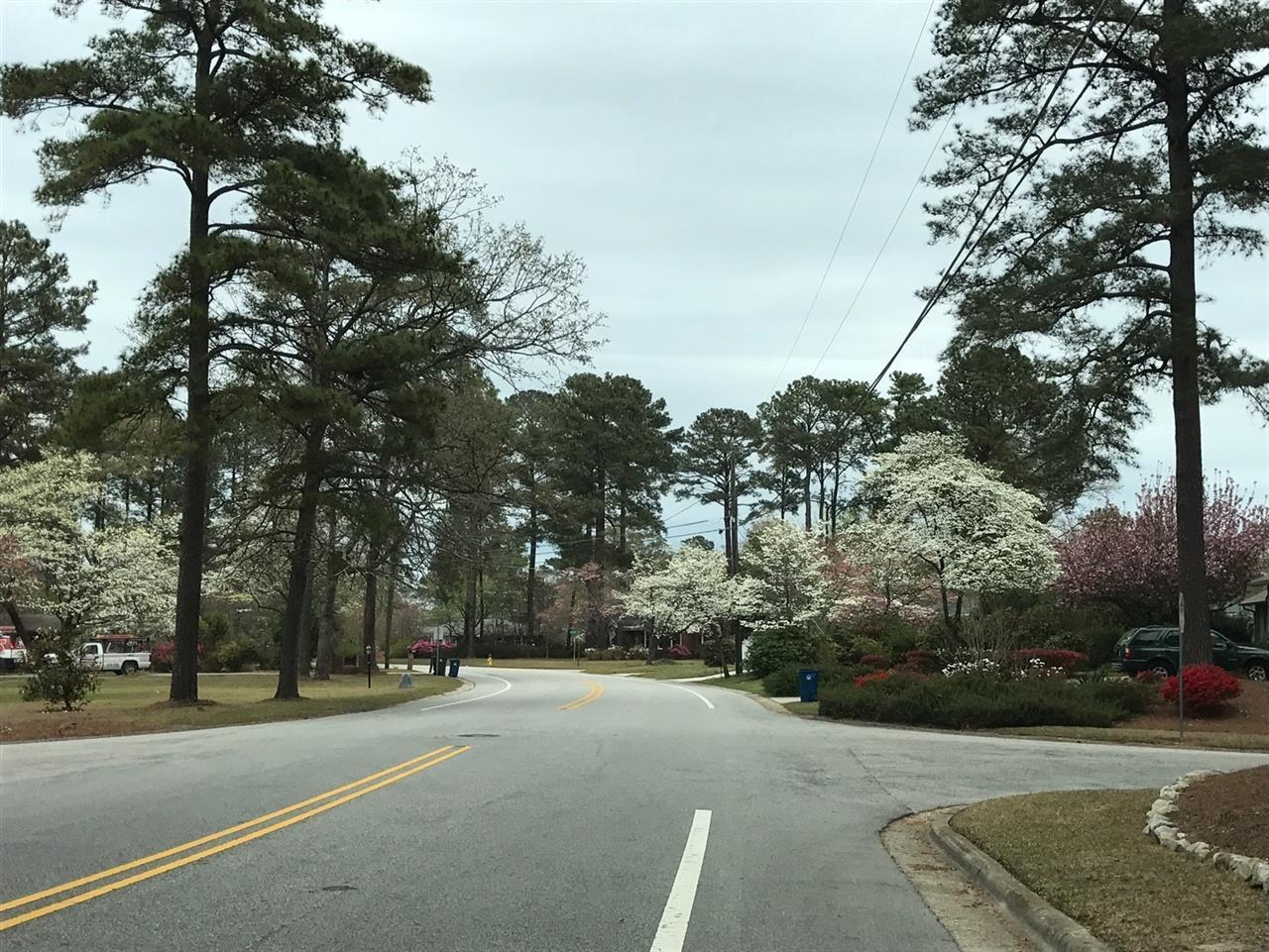 Spring in Fayetteville, North Carolina